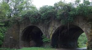 """The Arches"" RR trestle."