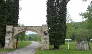 Farmer's Community Park entrance.