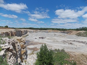 Quarry .5 miles west of Fountain.