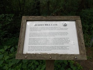 cave sign