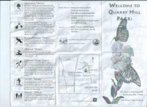 Map Tri-fold.