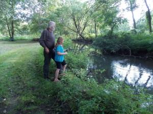 a.b fishing with grandpa