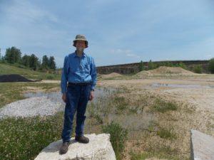 PapaDave at Minnesota's premiere gastropod quarry.